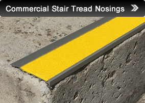 Commercial Stair Tread Nosings